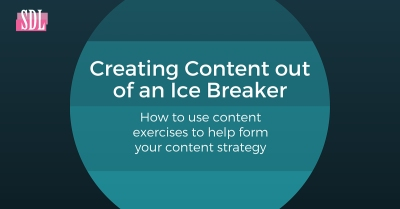 Creating Content out of an Ice Breaker