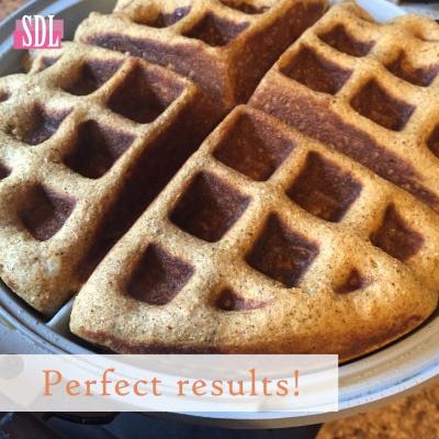 Paleo Pumpkin Waffles Results