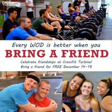 CrossFit Turbine Brin-a-Friend Week Social Media Engagament