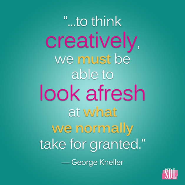 George-kneller-creative-quote