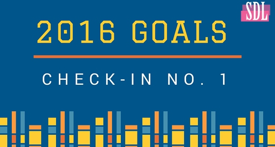 Danielle Hubner 2016 Goals Check In January