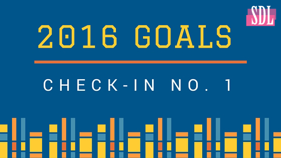 Danielle Hubner 2016 Goals Check In January