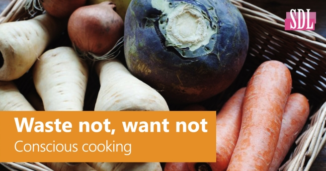 Waste not, Want not - Conscious Cooking - DanielleHubner.com - SocialDL