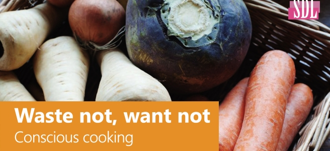 Waste not, Want not - Conscious Cooking - DanielleHubner.com - SocialDL