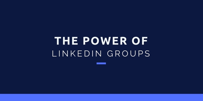 the power of linked in groups