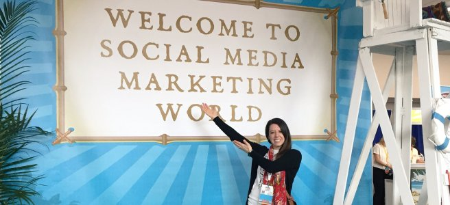 Dani Hubner at Social Media Marketing World 2017 #SMMW17